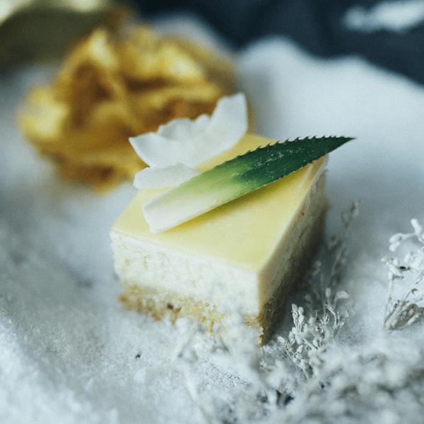Prajitura cu cocos si ananas