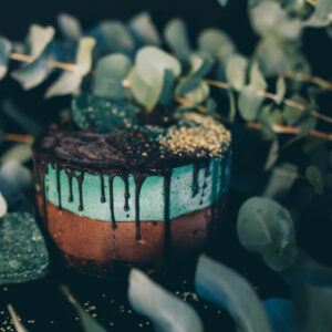 Tort de ciocolata si eucalipt